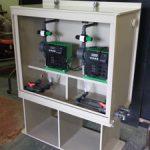 Water Treatment Dosing Pump Enclosure