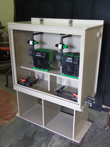 Dosing Pump Enclosure Chemical Support Systems Design