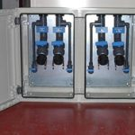 Water Treatment Dual fill point cabinet