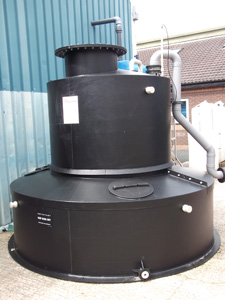 Water Treatment HCL tank