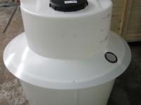 Dosing Tank with rain skirt & inspection port CSS