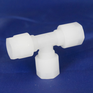 PVDF tube connector