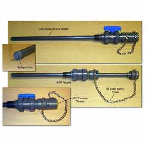 PVC Injection lance