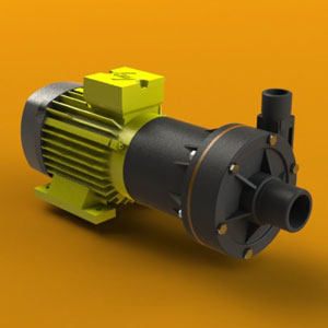 Serfilco magnetic coupled pump