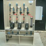 Pulp & paper Biocide dosing system
