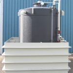 Pulp & paper Caustic storage System