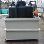 Pulp & paper Hypochlorite storage system