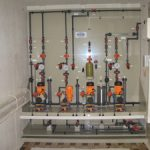 Pulp & paper Raw water dosing cabin