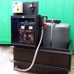 CSS oil pump skid