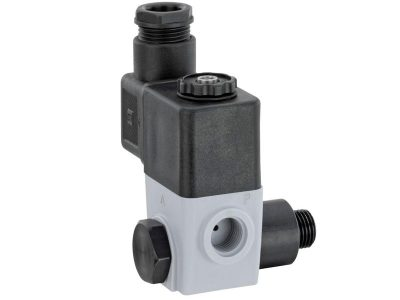 Direct mount pilot soleniod valve