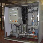 Water Treatment Enclosed booster system