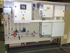 Water Treatment Monitoring skid