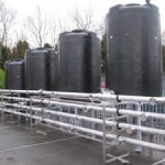 Water Treatment Multiple tank storage and distribution