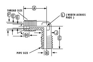JACO connector PP MALE TUBE ELBOW Specification supplied by CSS