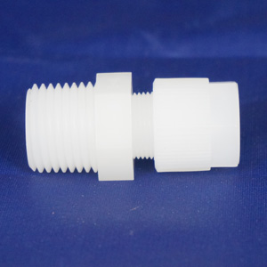 PVDF Male Tube Connector CSS