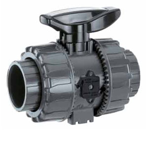 FIP 2 WAY PVC / PP BALL VALVES & GEMU 710 ACTUATED BALL VALVES