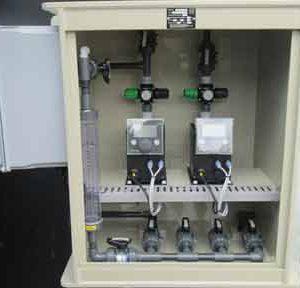 Pump box enclosure