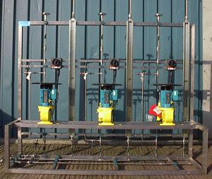 Nuclear and Power Atex Rated-High Pressure dosing System