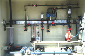 Petrochemical Sodium Hypochlorite Dosing System