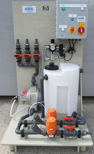 Pulp & paper Cleaning skid