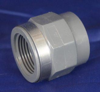 GF PVC U Adapter Socket