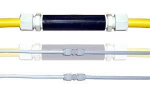 Double wall tube connectors