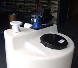 Mixer Mounting Plate