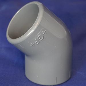 PVC 45 degree elbow fitting