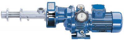 Plastic and progressive cavity pump