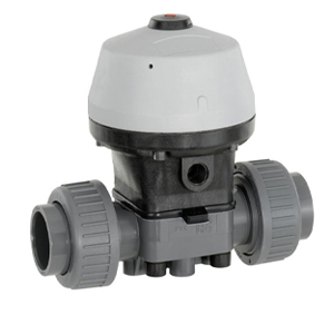 GEMU (R690) PVC/PP ACTUATED DIAPHRAGM VALVES (NORMALLY CLOSED)