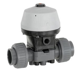 GEMU (R690) PVC/PP ACTUATED DIAPHRAGM VALVES (NORMALLY CLOSED)