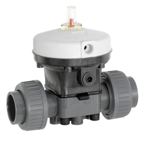GEMU (R690) PVC/PP ACTUATED DIAPHRAGM VALVES (NORMALLY OPEN)
