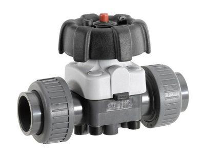 Manual diaphragm valve