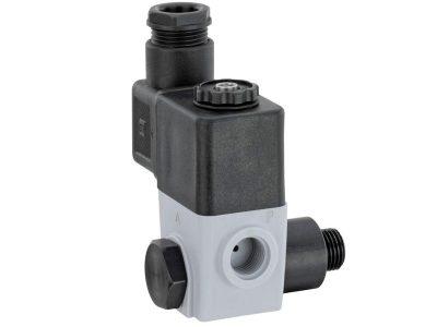 Direct mount pilot soleniod valve